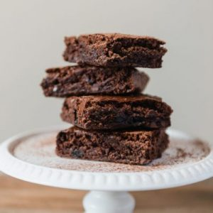 Tahini Chocolate Brownies
