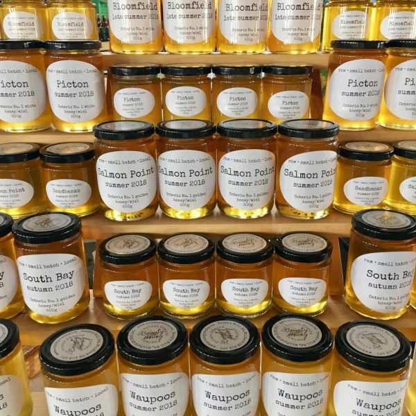 raw honey from County Honey