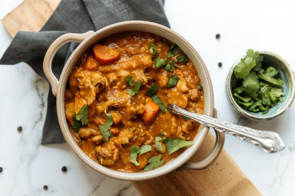 butter-less chicken curry